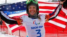 Amy Purdy in Sochi